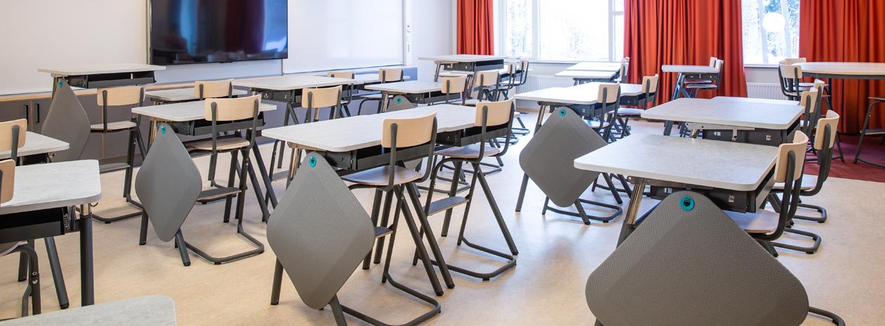 ActiveS - Produkter för klassrummet för minskat stillasittande, ökad rörlighet och lugn och ro.